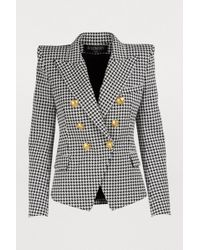 Balmain - Houndstooth Jacket - Lyst