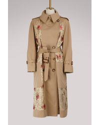 Alexander McQueen | Patch Over Trench | Lyst