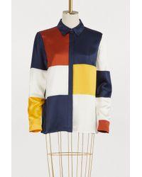 Tory Burch - Silk Reese Shirt - Lyst