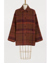 Acne Studios - Mid-length Wool Coat - Lyst