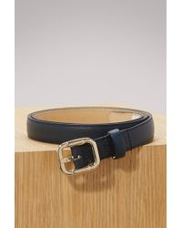 A.P.C. - Leather Merima Belt - Lyst