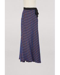 Forte Forte - Long Wrap Skirt - Lyst