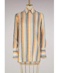 Victoria, Victoria Beckham - Fluid Shirt - Lyst