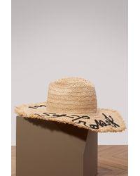 Miu Miu - St Tropez Straw Hat - Lyst