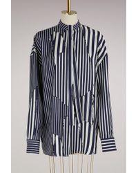 Haider Ackermann - Silk Oversize Shirt - Lyst
