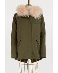 Army by Yves Salomon - Fur-lined Parka - Lyst