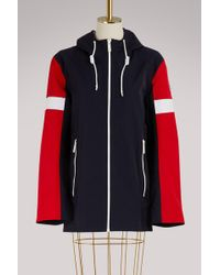 Fusalp - Long Hooded Jacket - Lyst