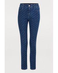 Stella McCartney - Hight-waisted Jeans - Lyst
