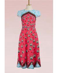 Mary Katrantzou - Osmond Crepe Midi Dress - Lyst