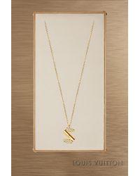 Louis Vuitton - Lv & Me Necklace, Letter S - Lyst