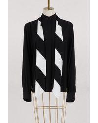 Givenchy - Lavallière Collar Shirt - Lyst