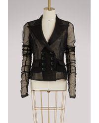 Dolce & Gabbana - Tulle Jacket - Lyst