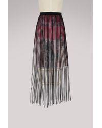 Balenciaga - New York City Midi Skirt - Lyst