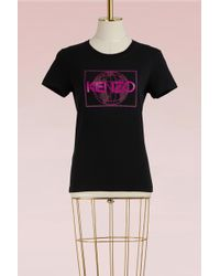 KENZO - World Fitted T-shirt - Lyst