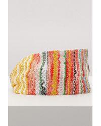 Missoni - Multicolored Headband - Lyst
