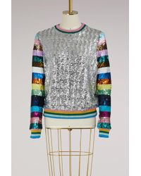 Mary Katrantzou - Magpie Sequins Sweatshirt - Lyst