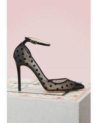 Jimmy Choo - Lucy 100 Leather Pumps - Lyst