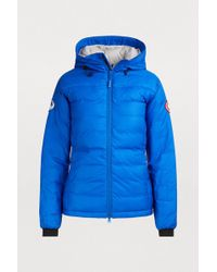 Canada Goose - Camp Pbi Hooded Jacket - Lyst
