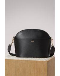 A.P.C. - Gabrielle Leather Shoulder Bag - Lyst