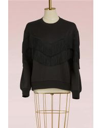 Stella McCartney | Fringe Sweatshirt | Lyst