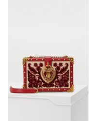 Dolce & Gabbana - Dolce Box Shoulder Bag - Lyst