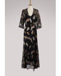"Forte Forte - ""desert Leaf"" Printed Dress - Lyst"