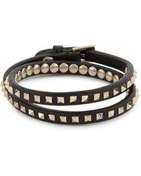 Valentino - Garavani Rockstud Double Bracelet - Lyst