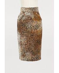 Roseanna - Lauren Leopard Skirt - Lyst
