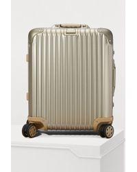 Rimowa - Topas Titanium Multiwheel Luggage - 45l - Lyst