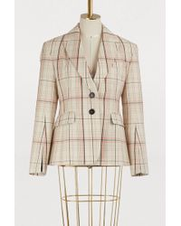 Carven - Checked Jacket - Lyst