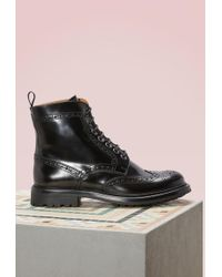 Church's - Angelina Leather Boots - Lyst