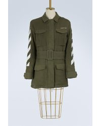 Off-White c/o Virgil Abloh - Diag Field Military Jacket - Lyst