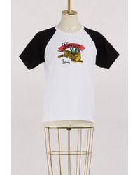 KENZO - Cotton Jumping Tiger T-shirt - Lyst
