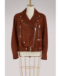 Acne Studios - Merlyn Lambskin Leather Jacket - Lyst