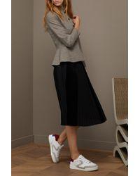 Gauchère - Karlotta Silk Pleated Skirt - Lyst
