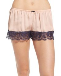 Underella By Ella Moss - Tap Pant Sleep Shorts - Lyst