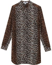 Elizabeth And James Joanna Leopard Tunic Dress - Lyst