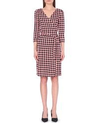 Diane von Furstenberg New Julian Silk Wrap Dress - For Women - Lyst