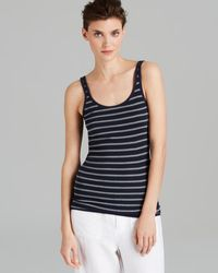 Vince Tank Striped Favorite - Lyst