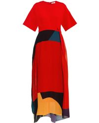 Issa Gabriella Colour-block Dress - Lyst