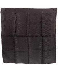 Hermès Pre-Owned Mini Scarf black - Lyst