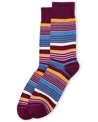 Missoni Allover Multi Stripe Socks - Lyst