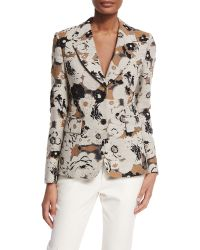 Creatures of the Wind - Floral Brocade Blazer  - Lyst