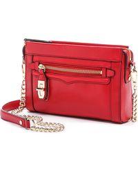 Rebecca Minkoff Mini Crosby Cross Body Bag - Crimson - Lyst