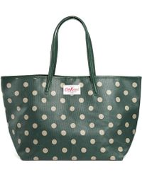 Cath Kidston - Leather Trim Large Tote - Lyst