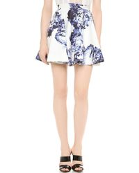 Lover Bloom Miniskirt - Lyst