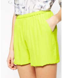 American Vintage - Neon Shorts - Lyst