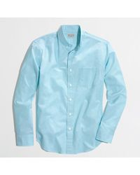 J.Crew Factory Washed Shirt in Endonend - Lyst