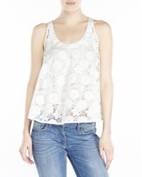 See By Chloé See By Chlo㉠White Floral Top - Lyst