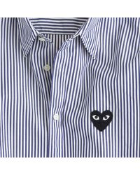 J.Crew Play Comme Des Garçons Buttondown Shirt in Stripe - Lyst